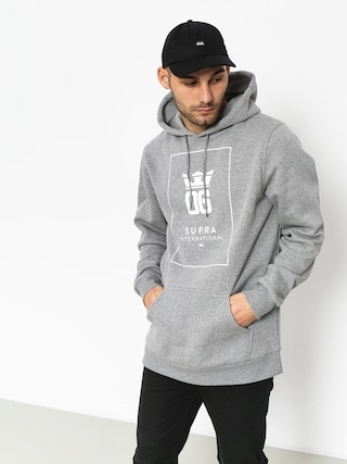 Supra Og Intl HD Hoodie (grey heather/white)