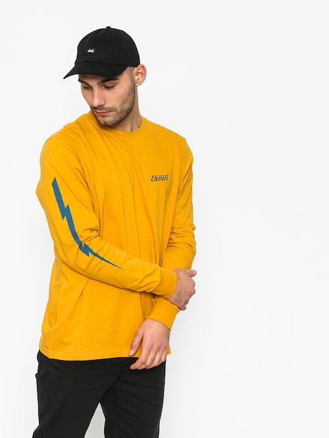 Element Gizmo Longsleeve (mineral yellow)