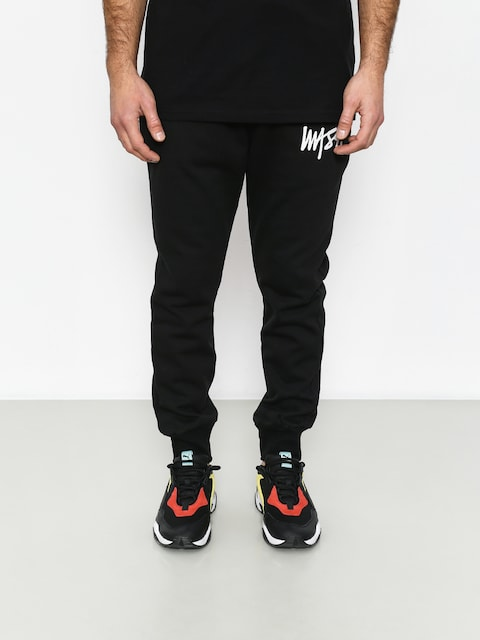 MassDnm Signature Trap Fit Pants (black)