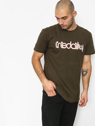 Iriedaily No Matter 4 T-shirt (olive rose)