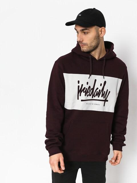 Iriedaily Tagg HD Hoodie (aubergine)