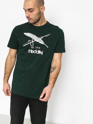 Iriedaily Harpoon Flag T-shirt (hunter)