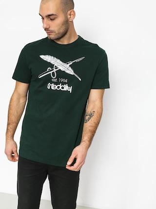 Iriedaily Harpoon Flag T-Shirt (hunter)
