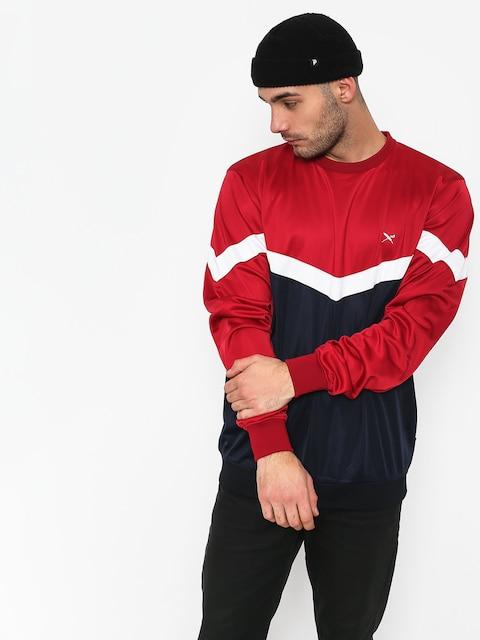 Iriedaily Block Steady Sweatshirt (navy red)