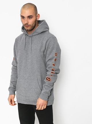Brixton Primo Intl HD Hoodie (heather grey)