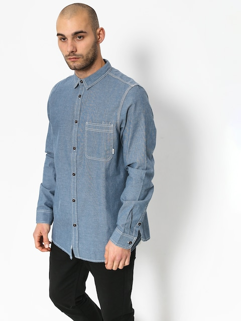 Element Preston Ls Shirt (blue chambray)