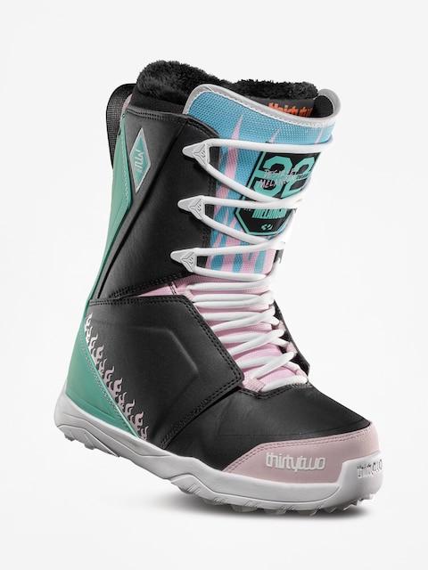 ThirtyTwo Lashed Melancon Snowboard boots Wmn (black/pink/green)