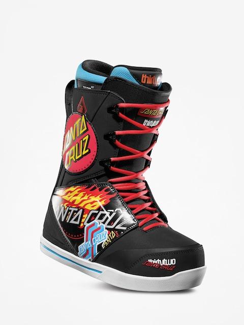 ThirtyTwo Santa Cruz Lashed Snowboard boots (black/print)