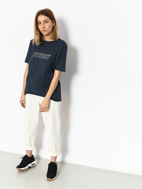 Stussy T-shirt College Tee Wmn (ink)