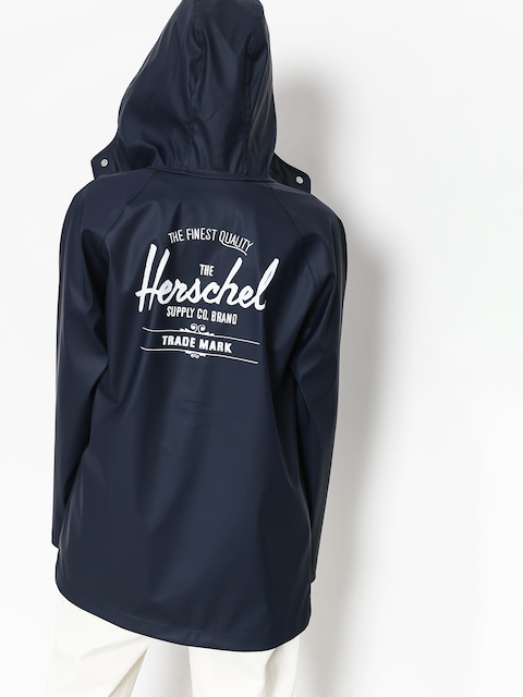 Herschel Supply Co. Jacket Rainwear Classic Wmn (peacoat/white classic logo)