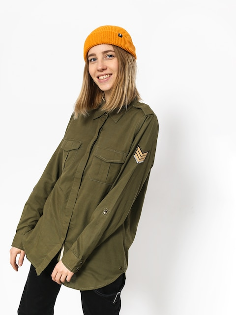 Roxy Shirt Militaryinfluen Wmn (burnt olive)