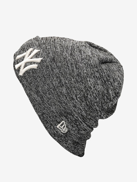 New Era Engineered Fit Cuff Knit Beanie (new york yankees blknovsfp)