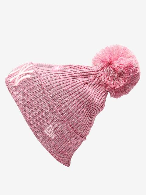 New Era Womens Engineered Fit Knit Beanie (new york yankees pnk)