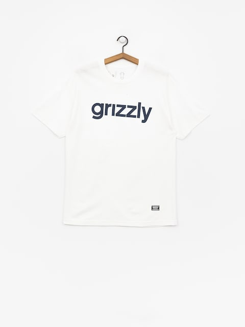 Grizzly Griptape Lowercase Tee T-shirt (white)