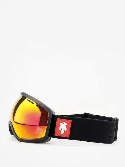 Majesty One 11 Goggles (matt black/red ruby/clear citrine)