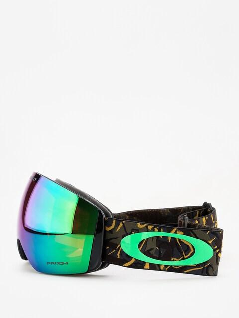 Oakley Flight Deck Goggles (camo vine jungle/prizm snow jade iridium)