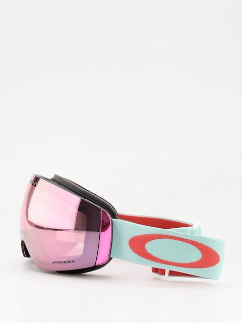 Oakley Flight Deck Xm Goggles (white/prizm snow hi pink iridium)