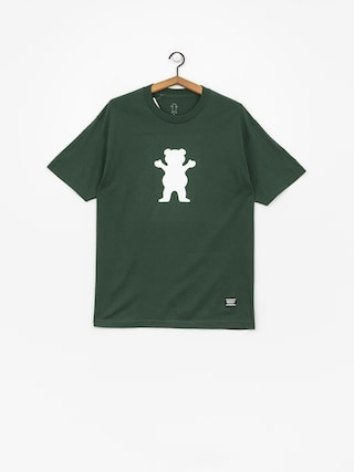 Grizzly Griptape Og Bear Basic Tee T-shirt (green)