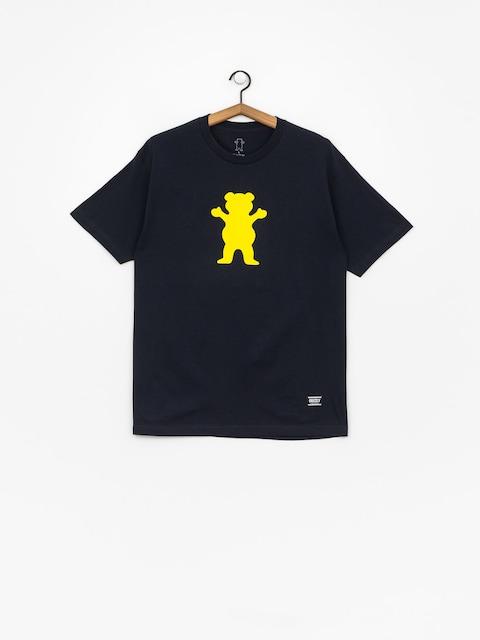Grizzly Griptape Og Bear Basic Tee T-shirt (navy)