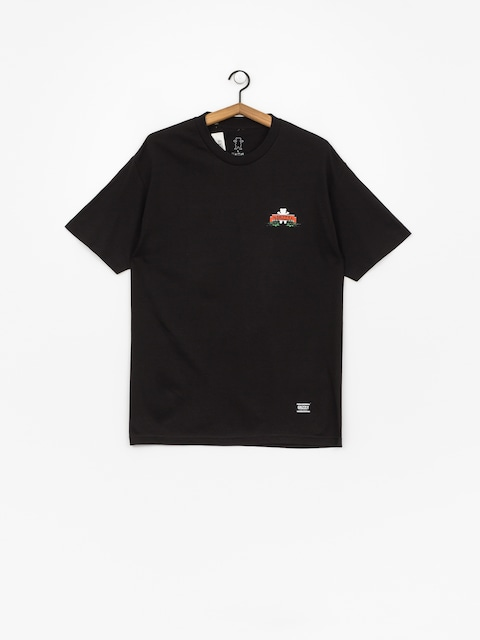 Grizzly Griptape Fear The Deer T-shirt (black)
