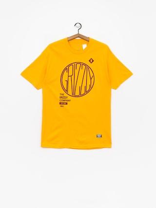 Grizzly Griptape Locomotive T-shirt (gold)