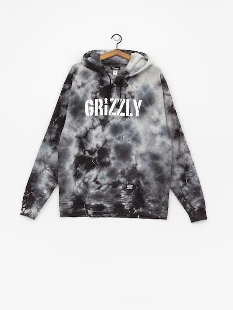 Grizzly Griptape Storm Front Tie-Dye HD Hoodie (black)