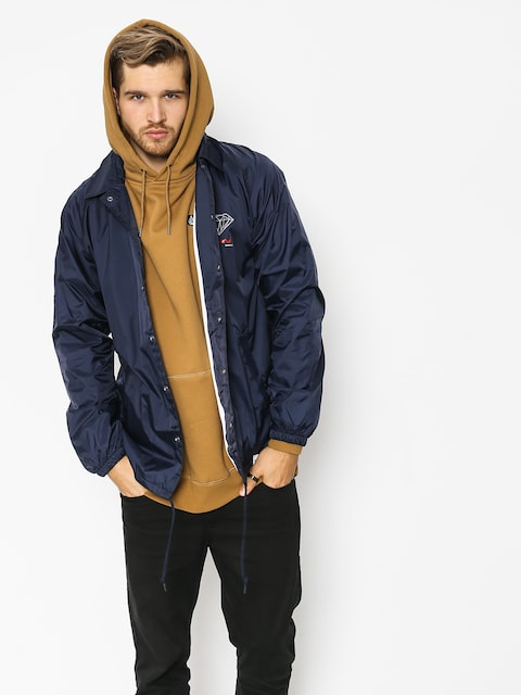 Diamond Supply Co. Og Sign Coach Jacket (navy)