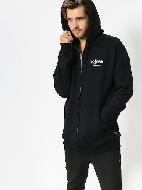 Volcom Supply Stone ZIP Sweatshirt (blk)