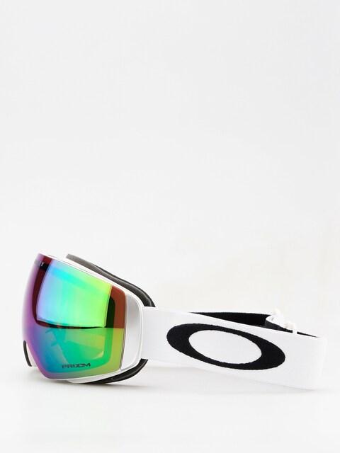 Oakley Goggles Flight Deck XM (matte white w/prizm jade iridium)