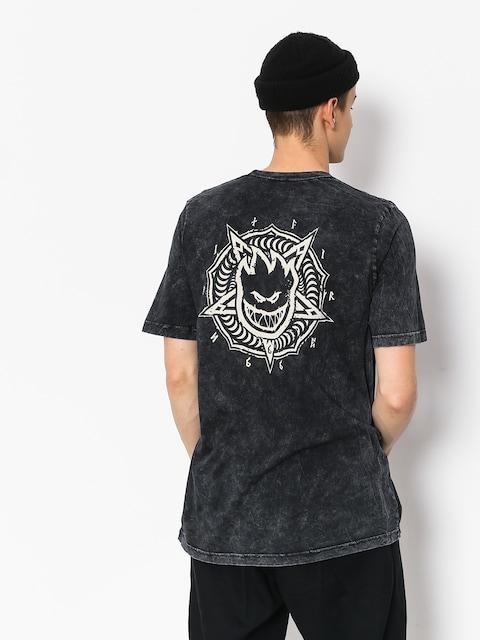 Spitfire Pntabrn Dbl T-shirt (black)