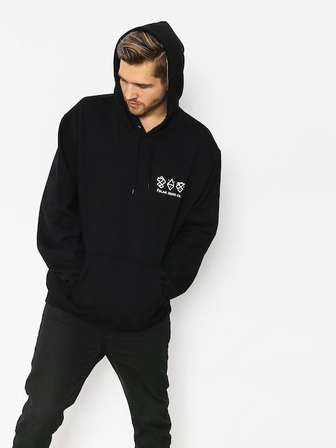Polar Skate Two Sided HD Hoodie (black)