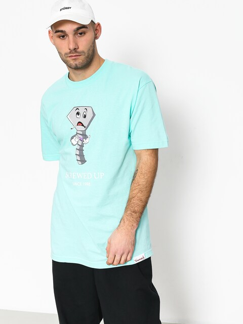 Diamond Supply Co. Screwed Up T-shirt (diamond blue)