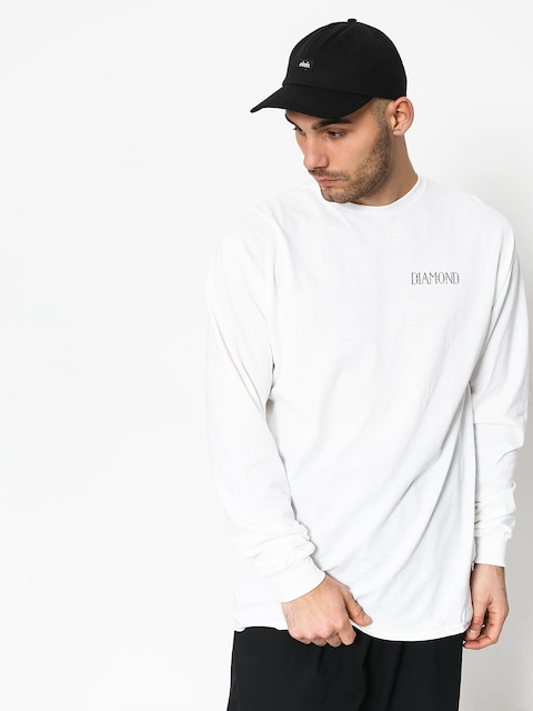 Diamond Supply Co. Split Longsleeve (white)
