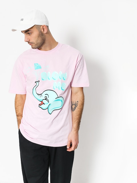 Diamond Supply Co. Blow Me T-shirt (pink)