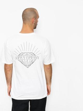 Diamond Supply Co. Split T-shirt (white)