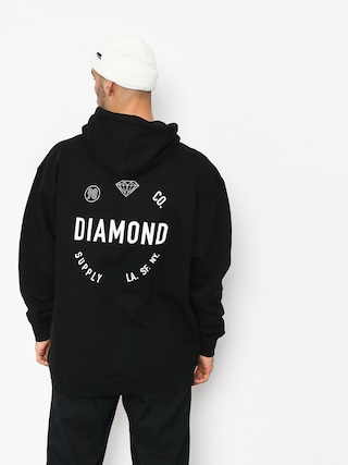 Diamond Supply Co. Dialed Skate HD Hoodie (black)