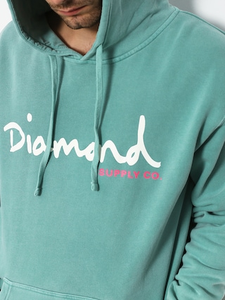 Diamond Supply Co. Og Script Pigment Dyed HD Hoodie (diamond blue)