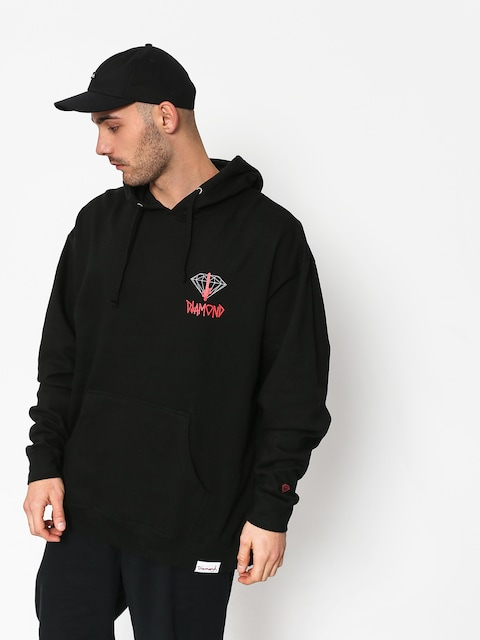 Diamond Supply Co. Deathwish Sign HD Hoodie