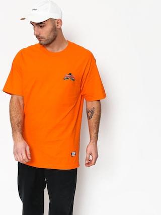 Grizzly Griptape Fear The Deer T-shirt (orange)