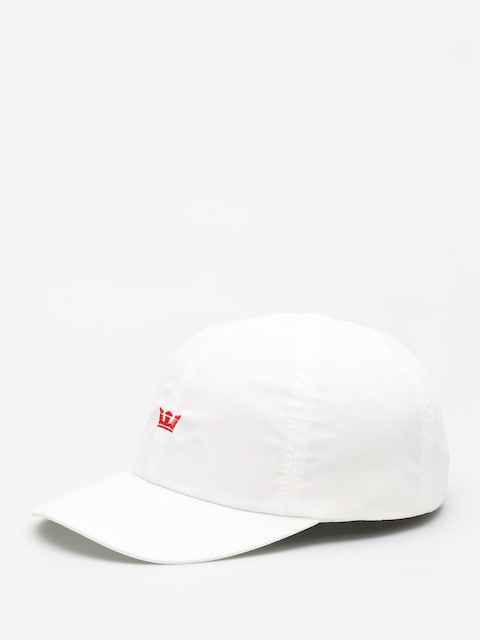 Supra Crown Runner ZD Cap (white/red)