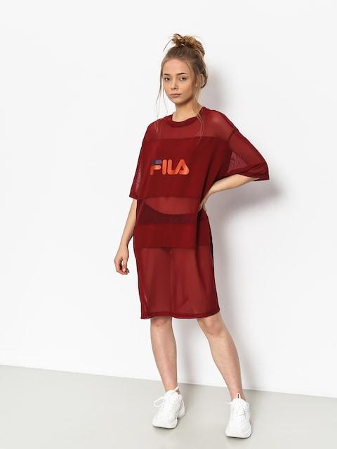 Fila Emily Tee Dress Dress Wmn (merlot)