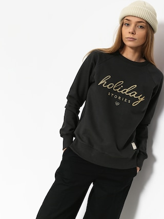 Femi Stories Mond Sweatshirt Wmn (wbl)