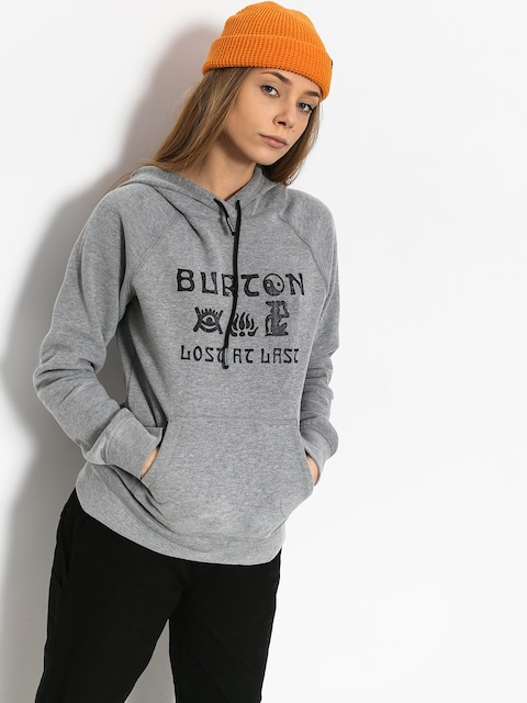 Burton Lingate HD Hoody Wmn (gray heather)