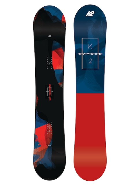 K2 Snowboard Raygun (navy/red)