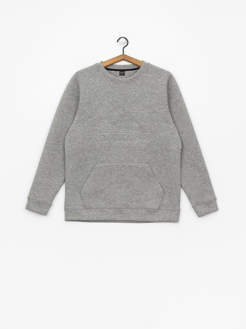 Quiksilver Freedom Crew Active sweatshirt (grey heather)