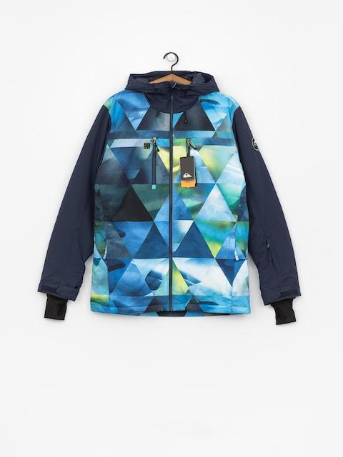 Quiksilver Mission Blck Snowboard jacket (stretch the un green)