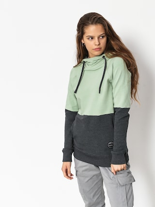 Majesty Flipside Lady Hoody Wmn (mint/graphite)