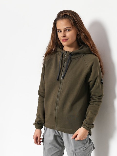 Majesty Vixen Lady ZHD Hoodie Wmn (army green)