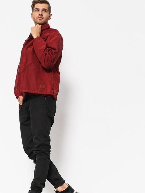 Brixton Claxton Collar Sherpa Jacke (burgundy)