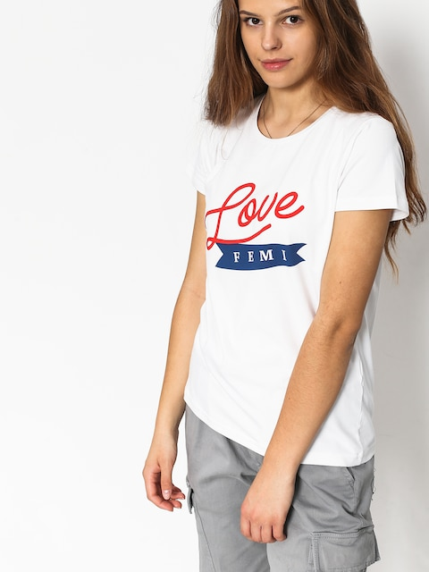 Femi Stories Pako T-shirt Wmn (wht)